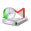 transfer Google email with time